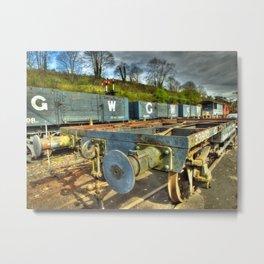 Conflat Wagon Metal Print
