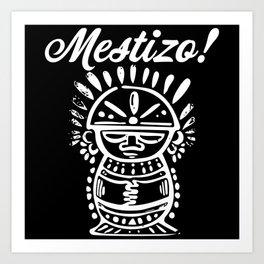 Mestizo Roots Art Print