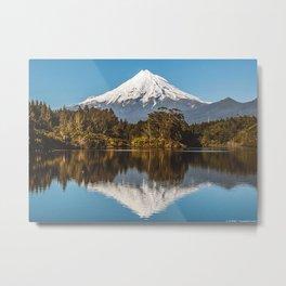 Mt Taranaki NZ Metal Print