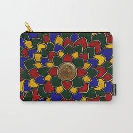 Madhubani Mandala Carry-All Pouch