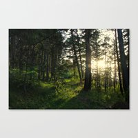 narnia Canvas Prints featuring Entering Narnia by Ananya Ghemawat