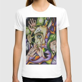 Don't See No Evil, Don't Speak No Evil, and Don't Hear No Evil T-shirt