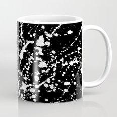 Splat Black Coffee Mug