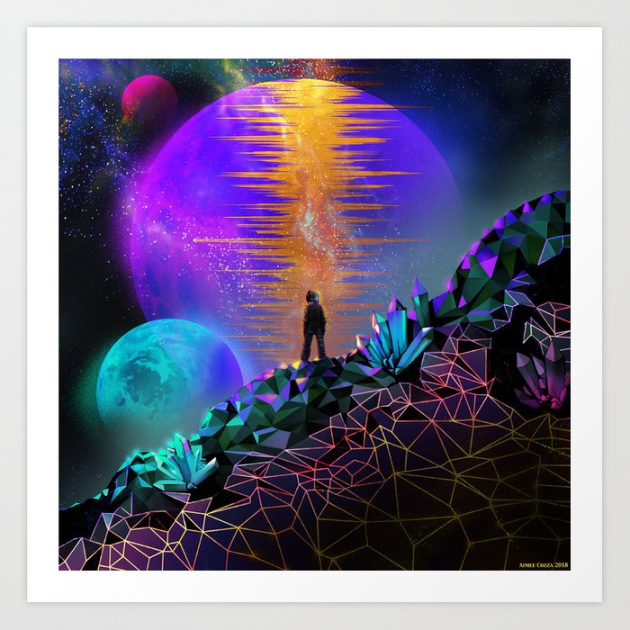 In Space, No One Can Hear You... Art Print