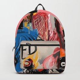 """The speed of life"" Street art graffiti and art brut Backpack"