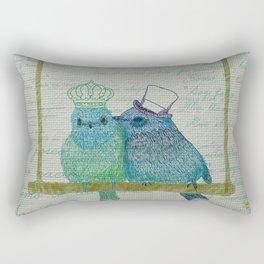 Two lovers Rectangular Pillow
