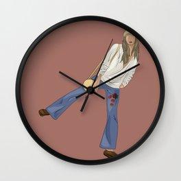 KINSHIP+HUICHOL Wall Clock