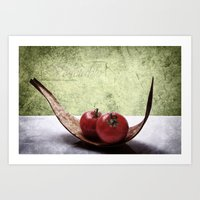 vegetable Art Prints featuring Vegetable by Angela Dölling, AD DESIGN Photo + Photo