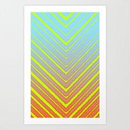 Outside Triangles Art Print