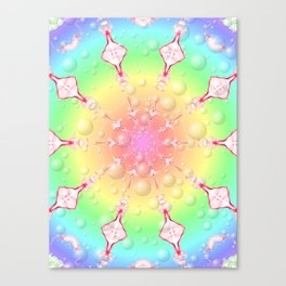 sweet rainbow of mine Canvas Print