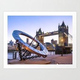 Tower Bridge 3 Art Print