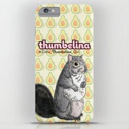 Little Thumbelina Girl: meerkat monday iPhone Case