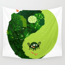 the tao of gardening Wall Tapestry