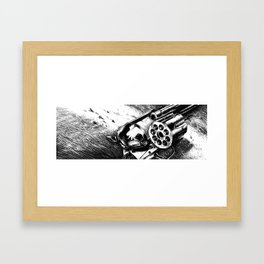 A bullet for everyone Framed Art Print