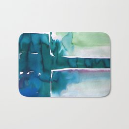 Landscape with Argonauts - Abstract 0035 Bath Mat