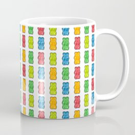 Rainbow Gummy Bears Coffee Mug