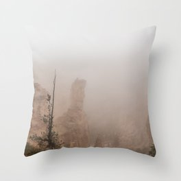 Bryce Canyon Obscured Throw Pillow