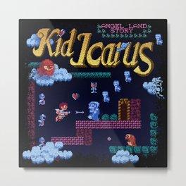 Icarus Kid Metal Print
