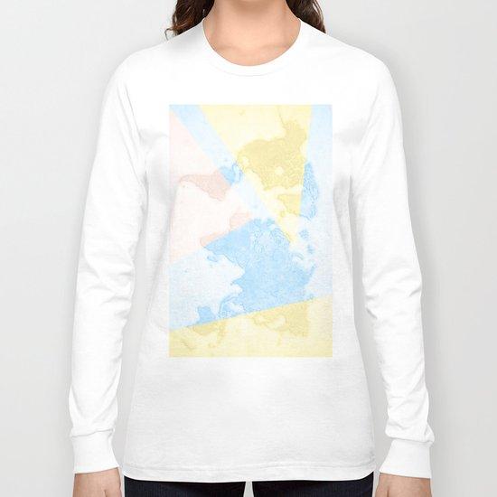World Map Light Long Sleeve T-shirt