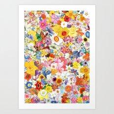 Flowers.2 Art Print
