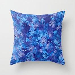 Foliage Disguise Throw Pillow