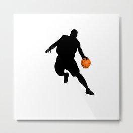 Basketball.Sport tshirt  Metal Print