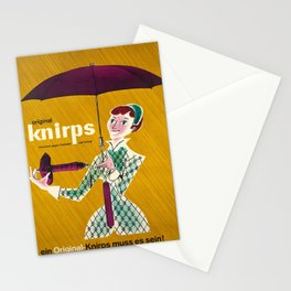 manifesto original knirps parapluie Stationery Cards