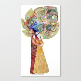 Family tree Canvas Print