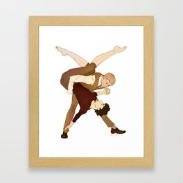 It don't mean a thing if it ain't got that swing. Framed Art Print