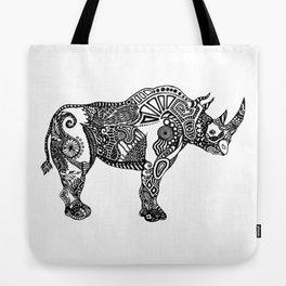 Rhino by Floris V Tote Bag
