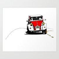 2CV (car) Art Print