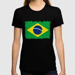 Flag of Brazil - Hi Quality Authentic version T-shirt