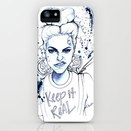 #STUKGIRL KYE (Keep it Real) iPhone Case