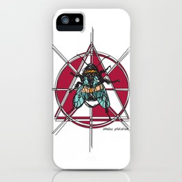 Bombus Pascuorum iPhone Case
