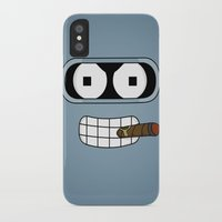 bender iPhone & iPod Cases featuring Bender Robot by OverClocked
