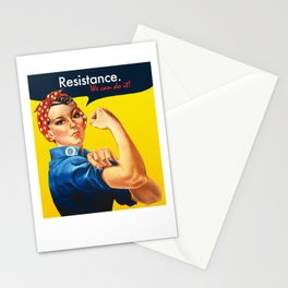 Rosie the Resister Stationery Cards
