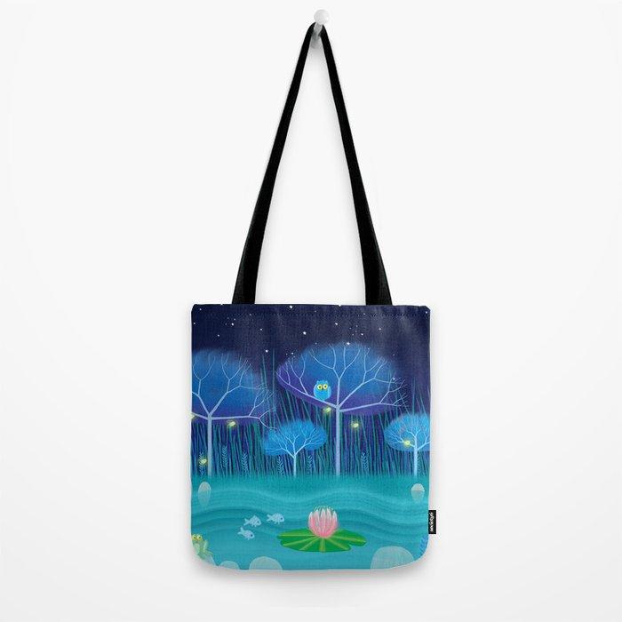 Treescape 3 Tote Bag