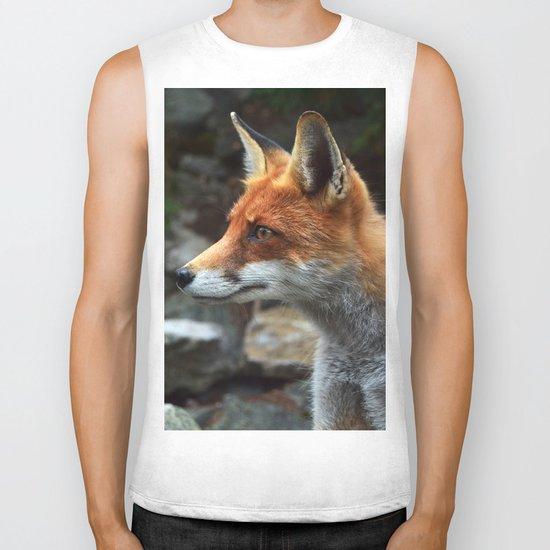Fox renard 4 Biker Tank