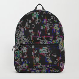Electric Rainbow Backpack