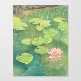 Lily Pond Canvas Print