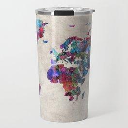 World Map 30 Travel Mug