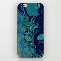 donnie darko iPhone & iPod Skins featuring Donnie Darko by Giuseppe Cristiano