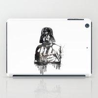darth vader iPad Cases featuring Darth Vader by Jon Hernandez