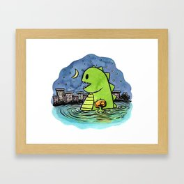 """water wings & late night dreams"" Framed Art Print"