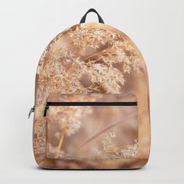 Watercolor Seed, Prairie Grasses 01, Boulder, Colorado, Fields of Gold Backpack