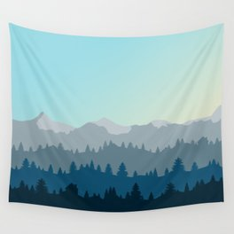 Face This Mountain (No Text) Wall Tapestry