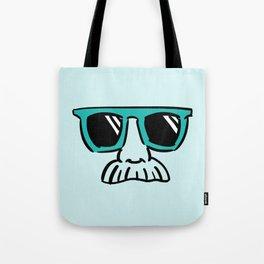 Too Cool (green cyan) Tote Bag