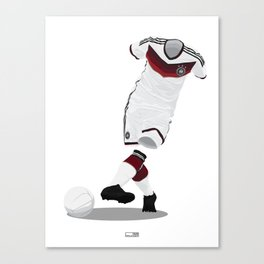 Germany - World Cup 2014 Finalists Canvas Print