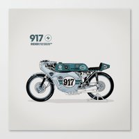 magnani Canvas Prints featuring PRINT Nº007 by Gianmarco Magnani