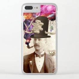 Odd Gent Clear iPhone Case